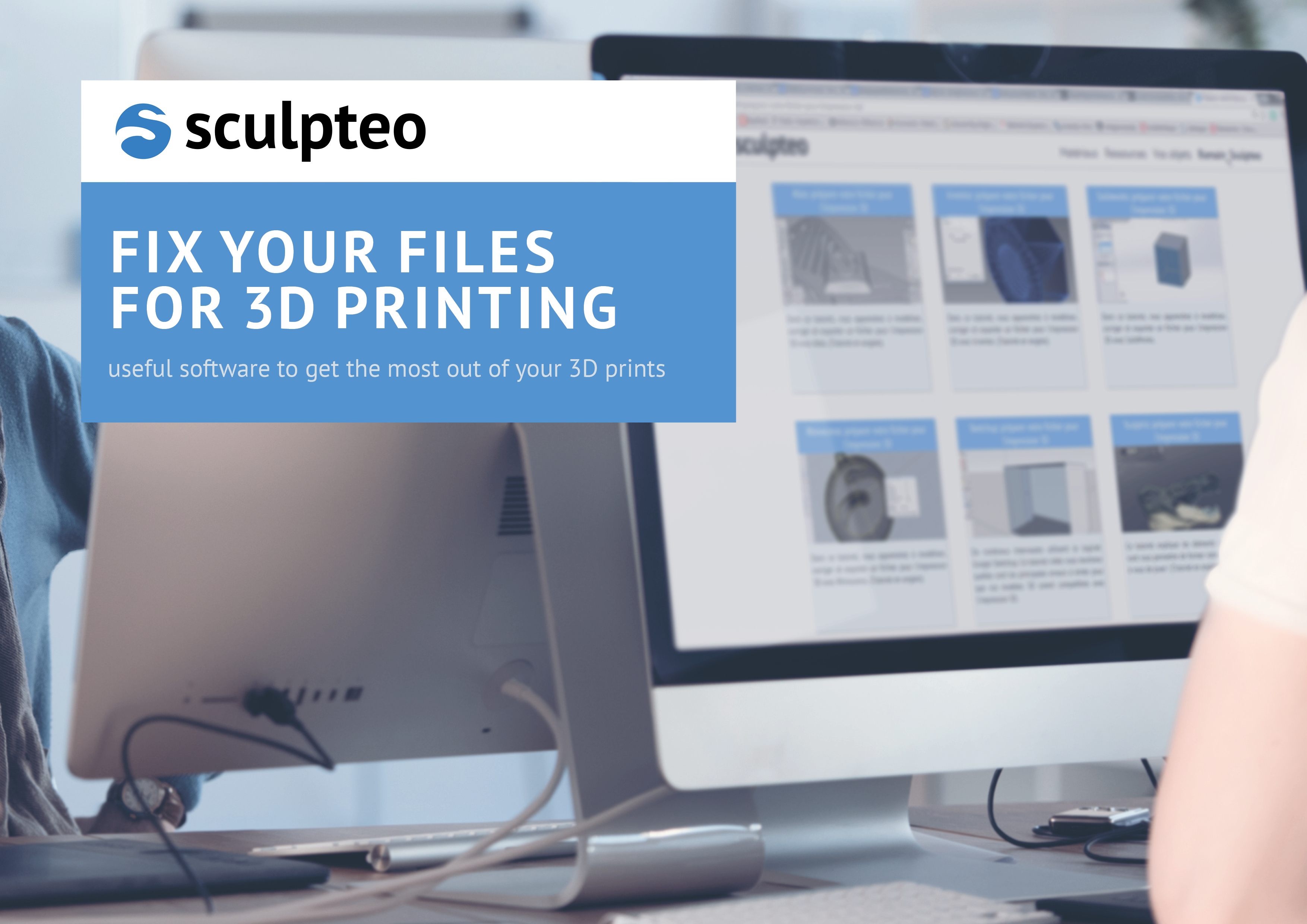 Fix Your Files for 3D Printing