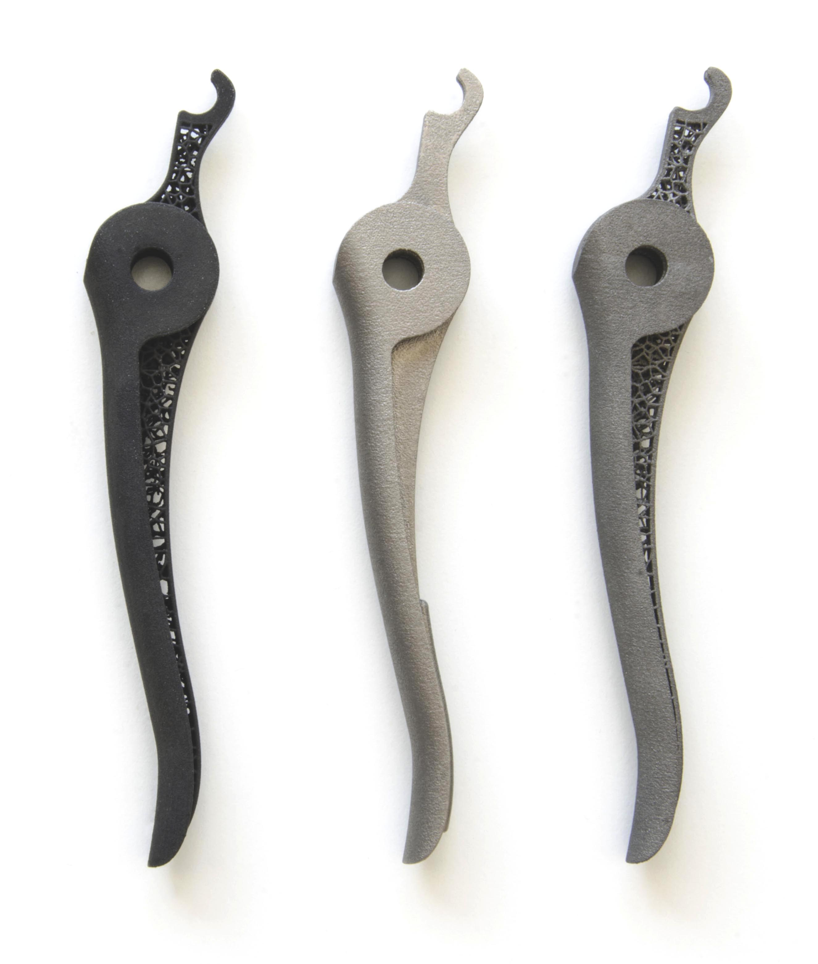 3D printed handles by Sculpteo Studio